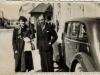 Wanda i Jan, dzieci starosty, pod starostwem w Jaśle