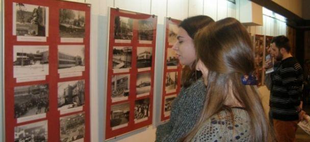 Wystawa o odbudowie Jasła w WDK w Rzeszowie