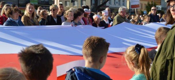 Patriotyczne przedstawienie na Stulecie Niepodległości