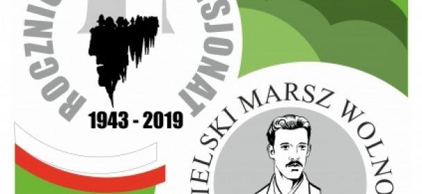 Zaproszenie na  VII Jasielski Marsz Wolności im. Pułkownika Stanisława Dąbrowy-Kostki