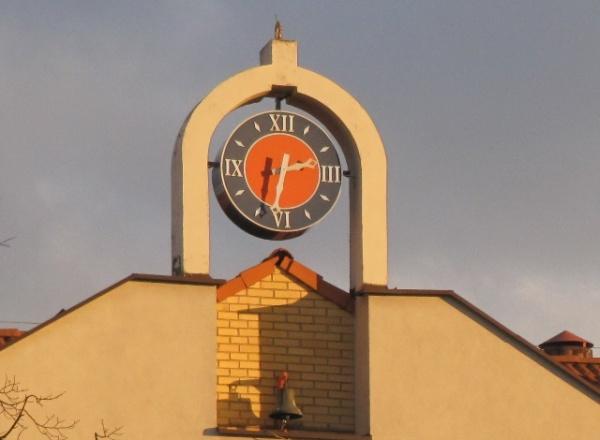 zegar na ratuszu